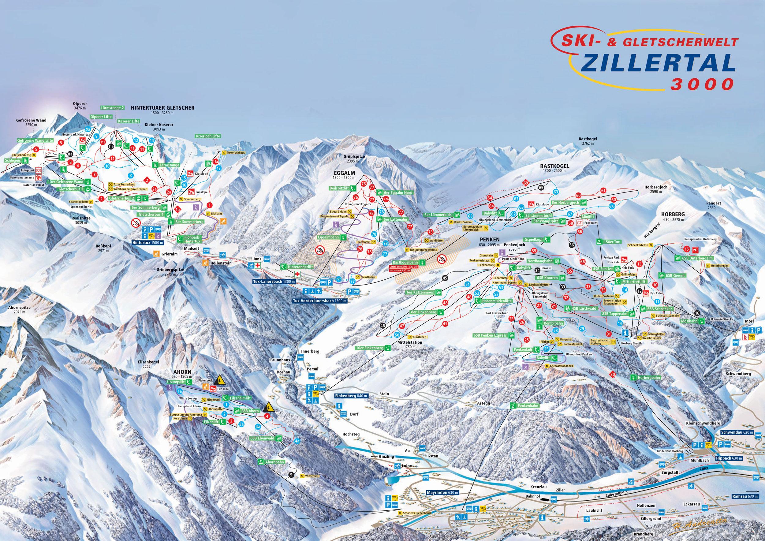 Freizeitaktivitten im Sommer in Mayrhofen