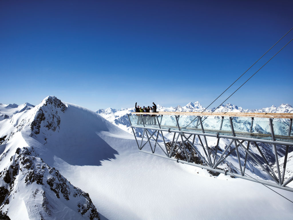 Solden Skigebiet In Osterreich