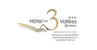 Logo Hotel des 3 Vallées  - Hotel