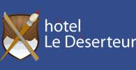 Logo Le Deserteur - Hotel