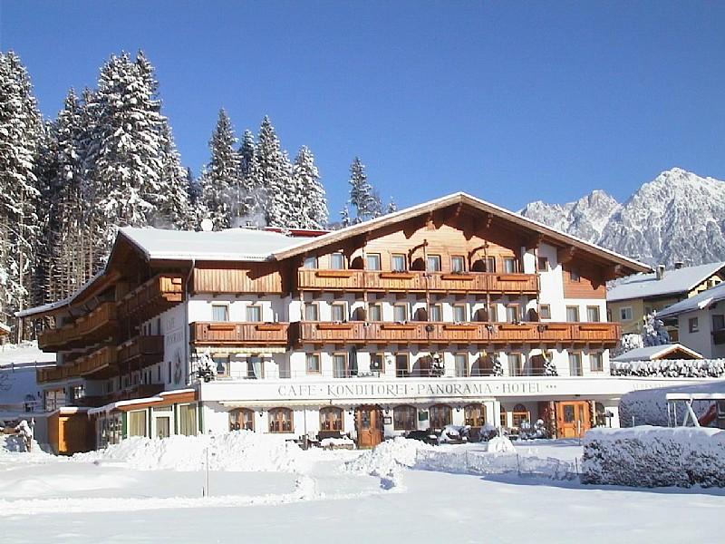 foto van Alpenpanorama