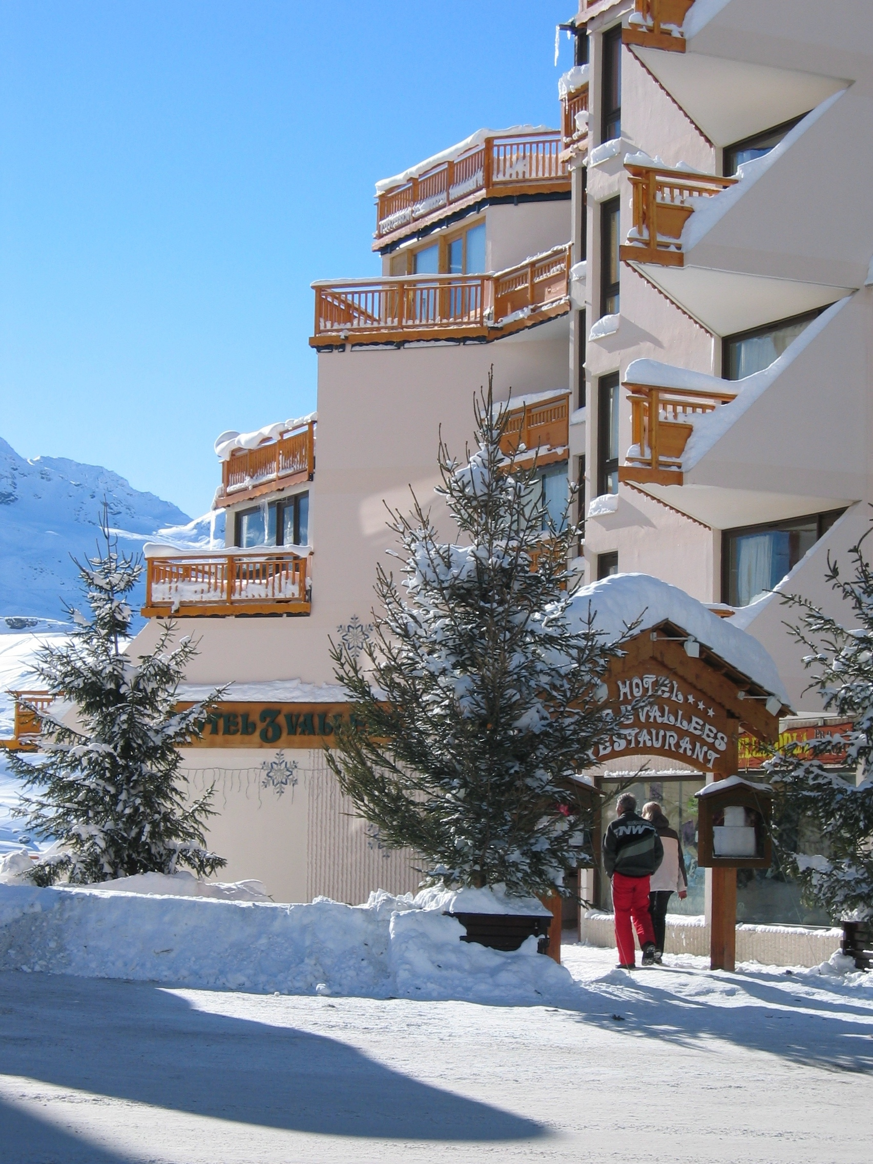 foto van Hotel des 3 Vallées