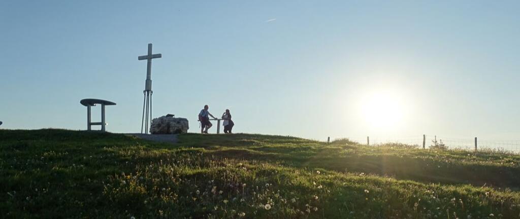 Warum steht eigentlich ein Gipfelkreuz auf dem Berg?