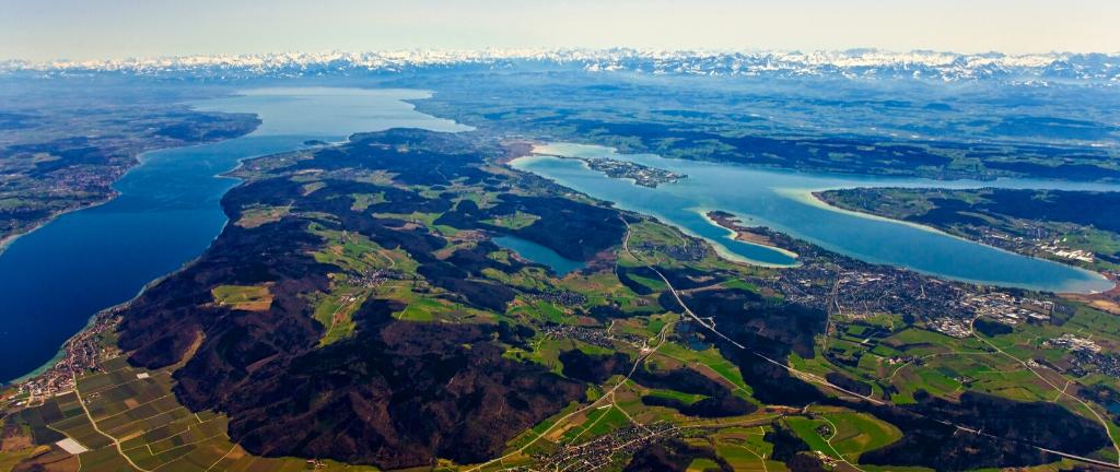 Wandern am Bodensee: Die 5 schönsten Wanderwege am größten See Deutschlands