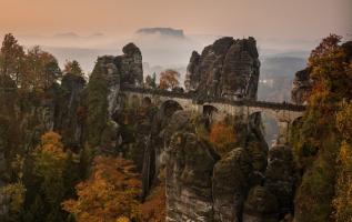 Bastei: Spektakuläre Felsformation in der Sächsischen Schweiz