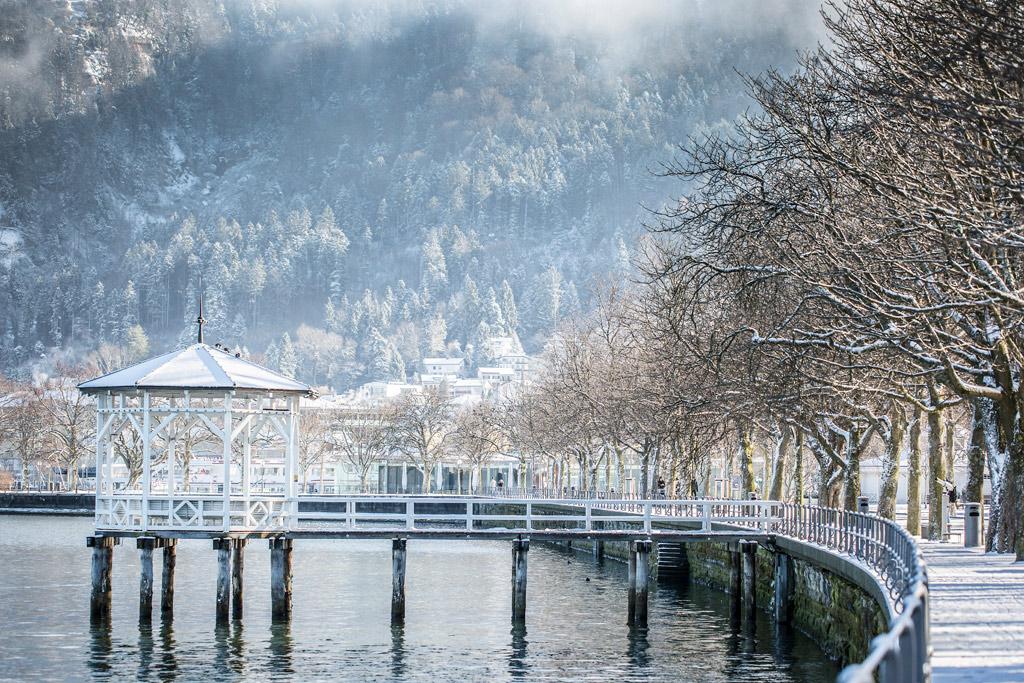 Winterlandschap Bregenz