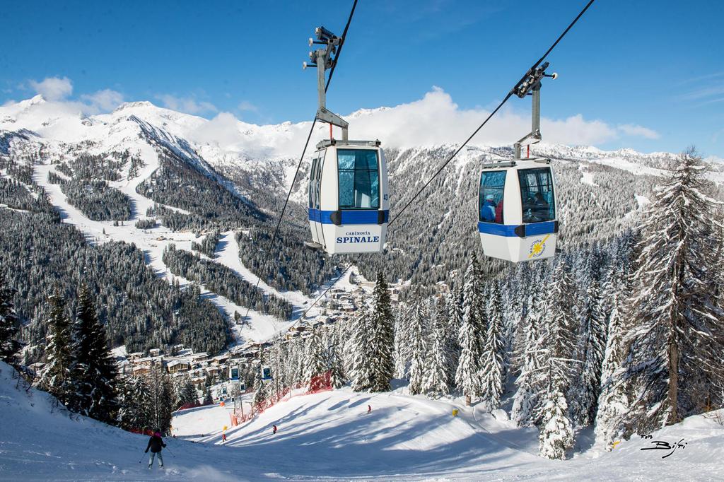 Skilift in skigebied Madonna di Campiglio