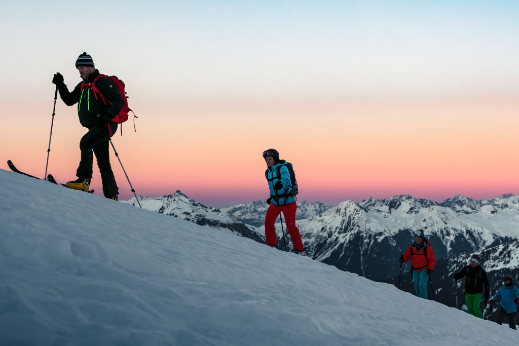 Vorarlberg Wintersport Skiën