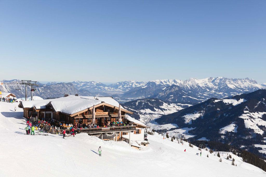 Berghut in Tirol