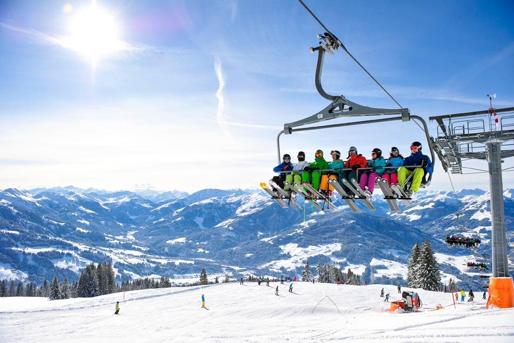 Lift in SkiWelt
