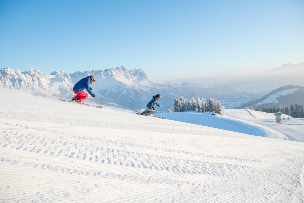 Skiën in SkiWelt