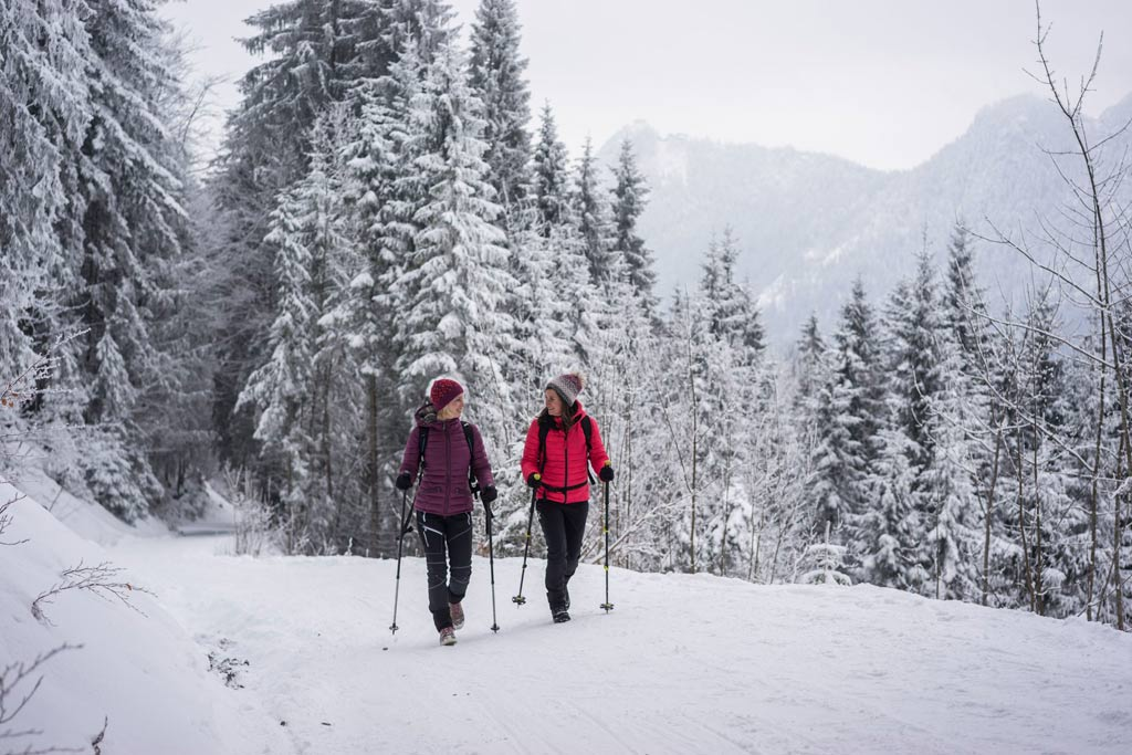 Winterwandelen in Tirol