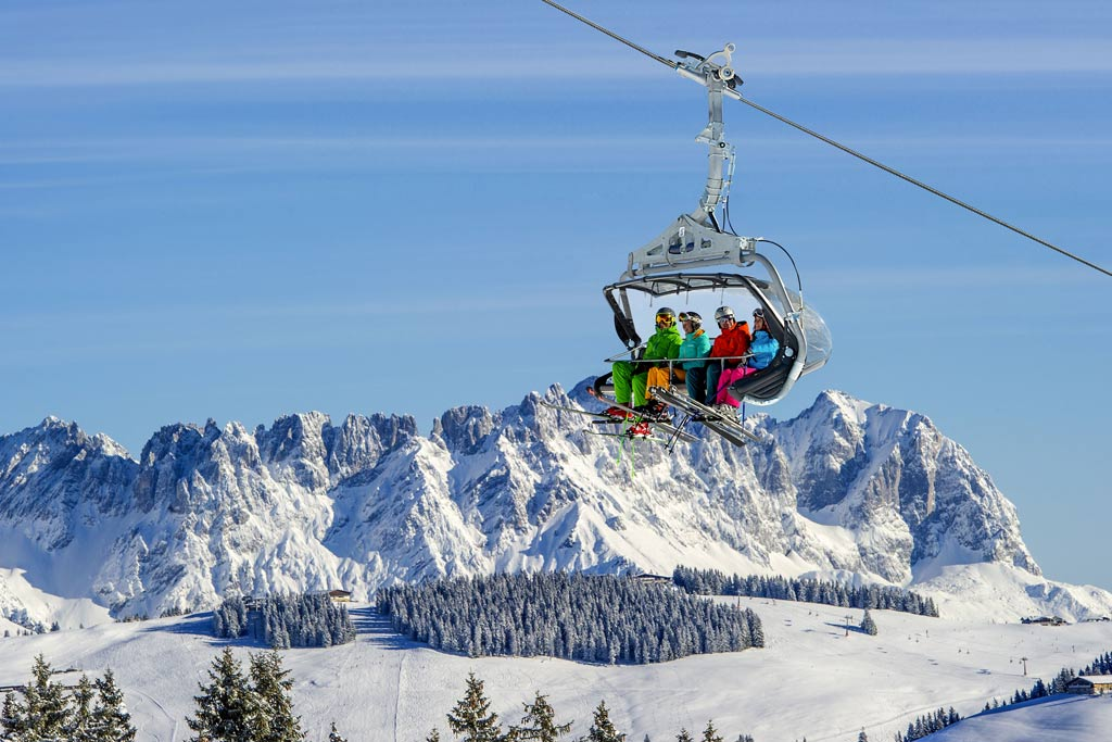 Skilift in SkiWelt Wilder Kaiser - Brixental
