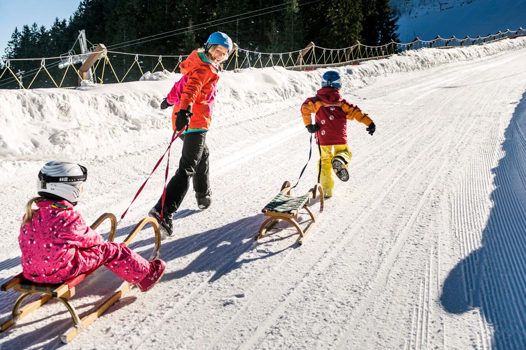 Rodelen in SkiWelt
