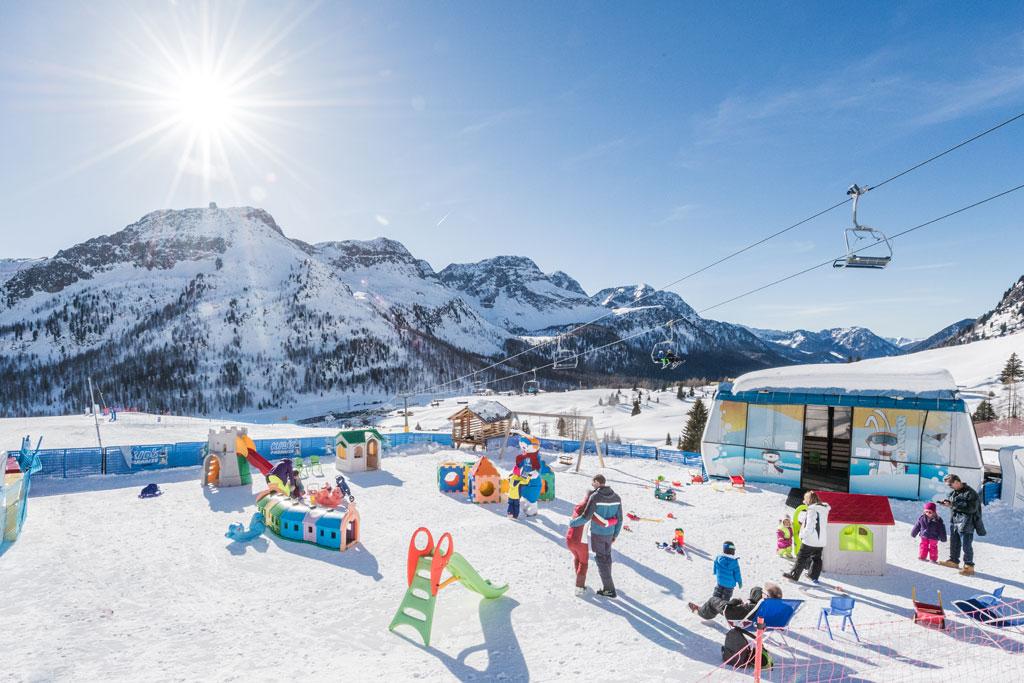 Kinderland Dolomiti Ski