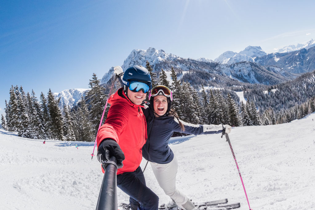 Stel in Dolomiti Superski