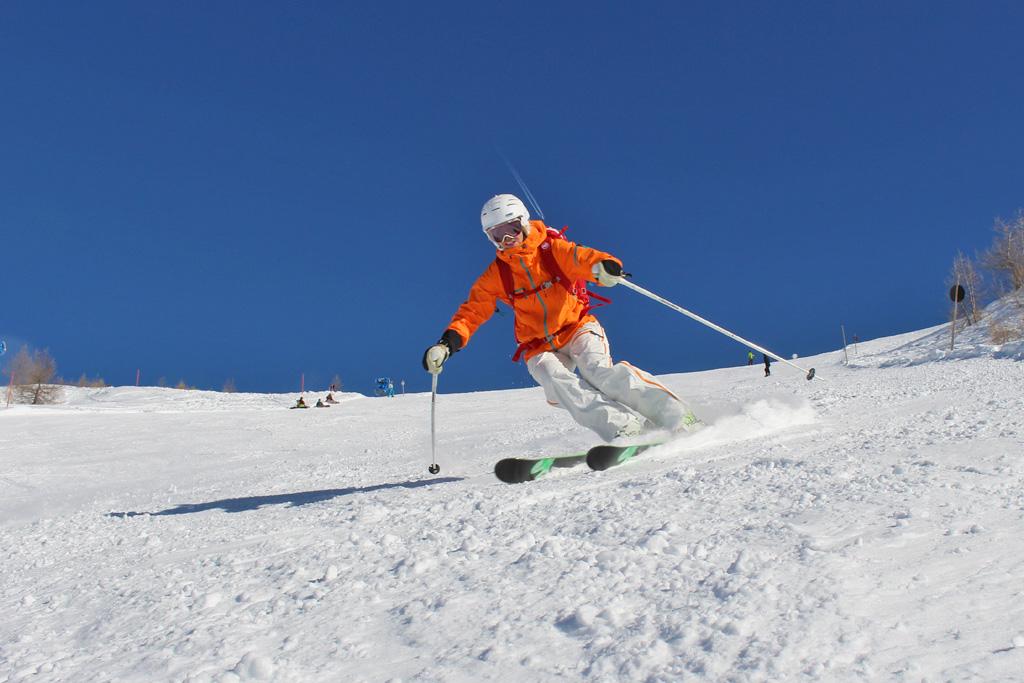 Skiën in het voorjaar