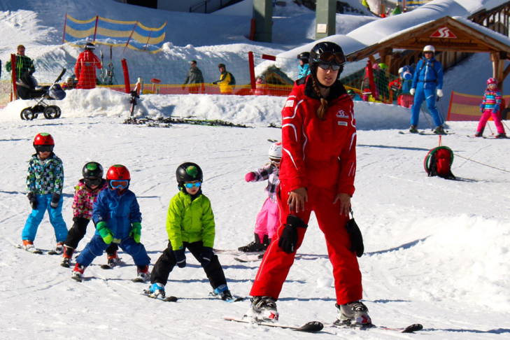 Best age for ski lessons