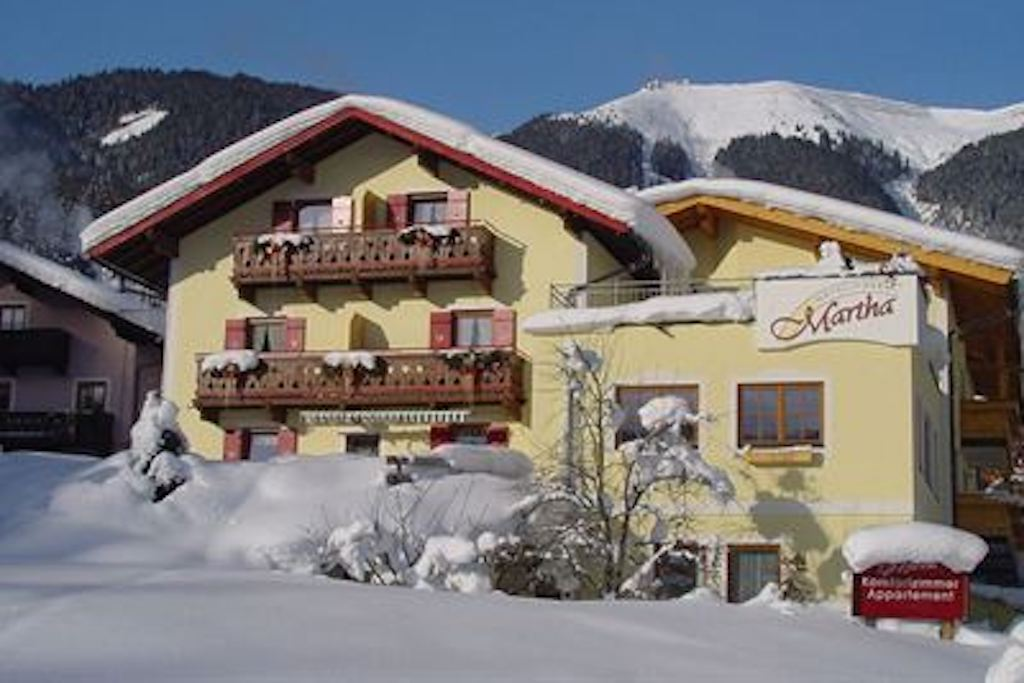 Landhotel Martha in the snow