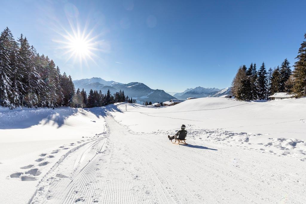 Rodelen in Ski Juwel