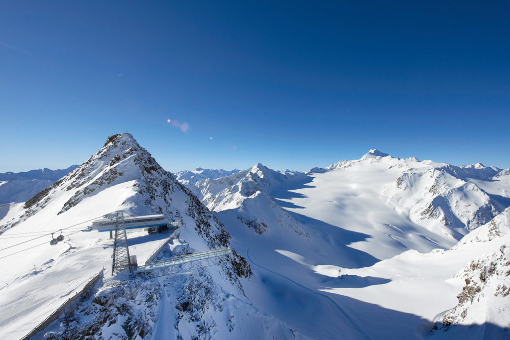 Gletsjer in Tirol