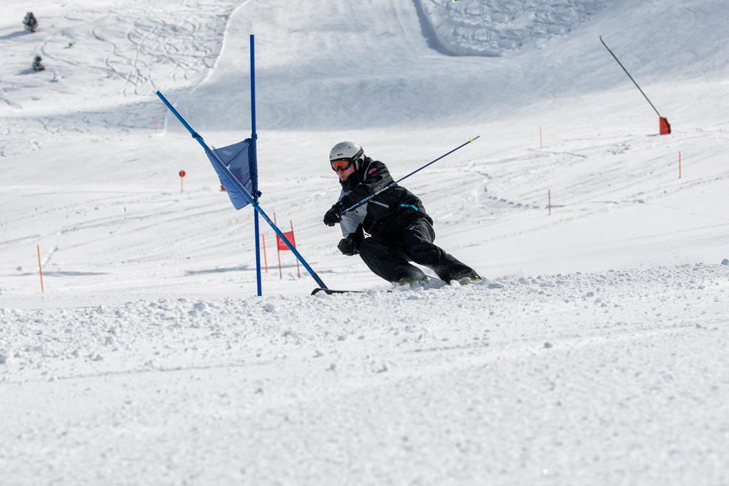Slalom Skiën