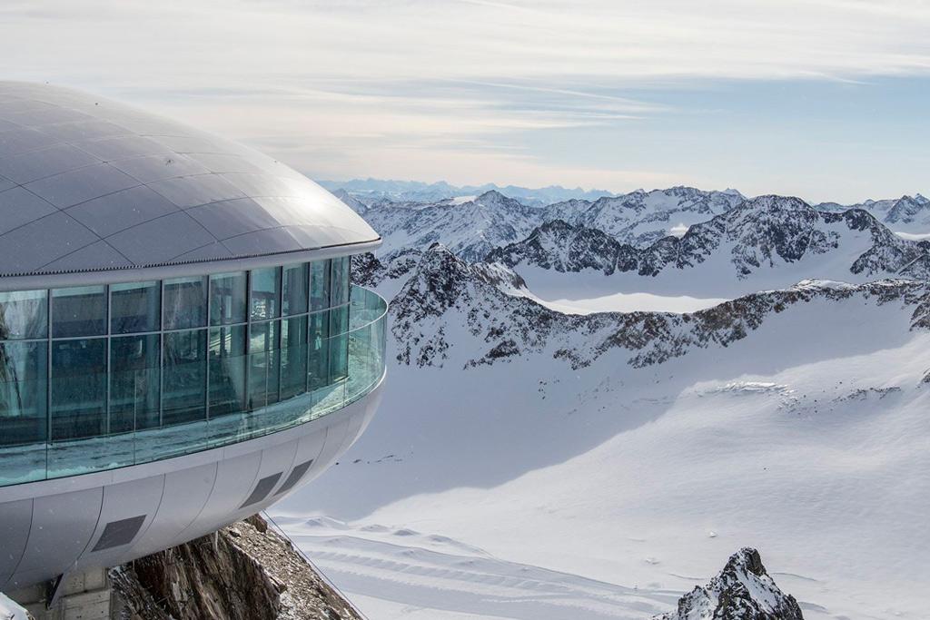 Hoogste Café Tirol op Pitztaler Gletsjer