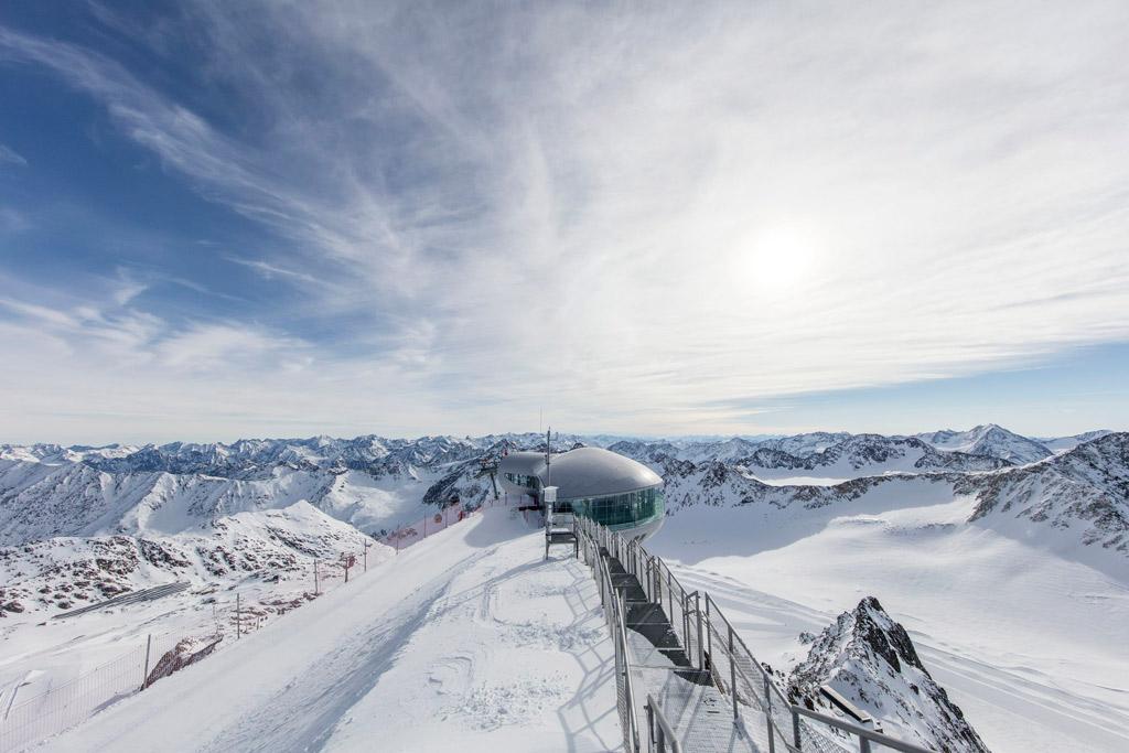 Uitzicht in Tirol
