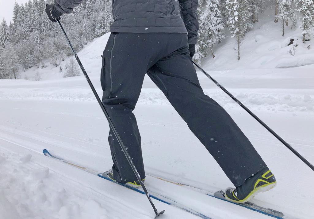 Langlauftechniek