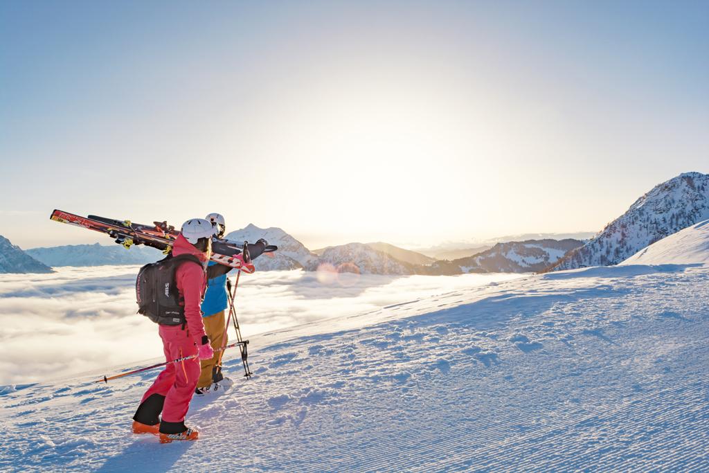 Skiën skicircus