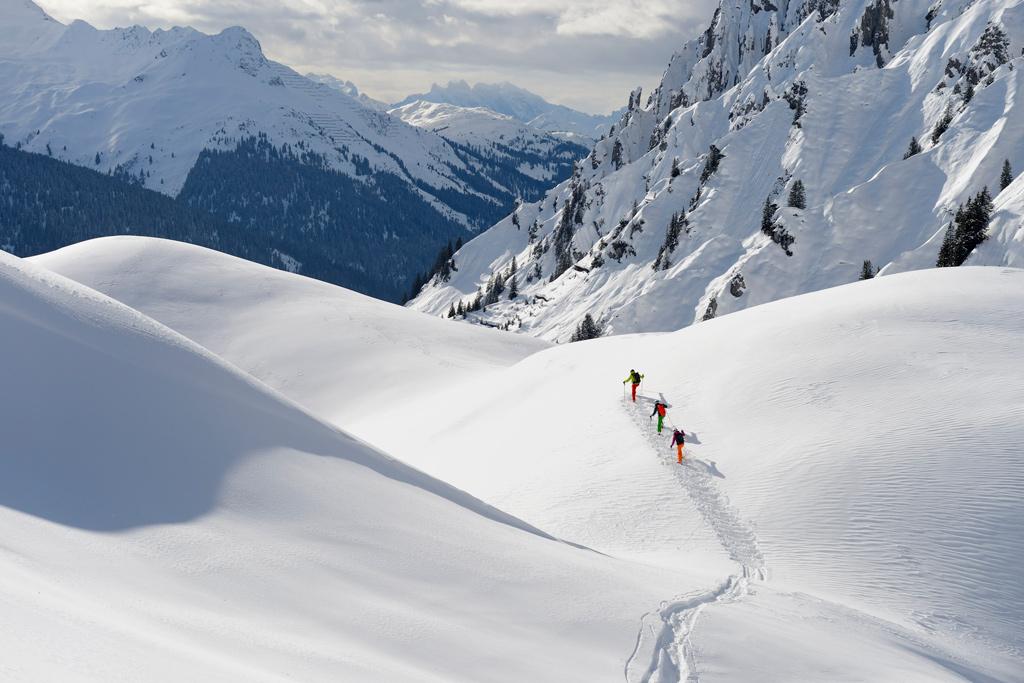 Freeriden Ski Arlberg