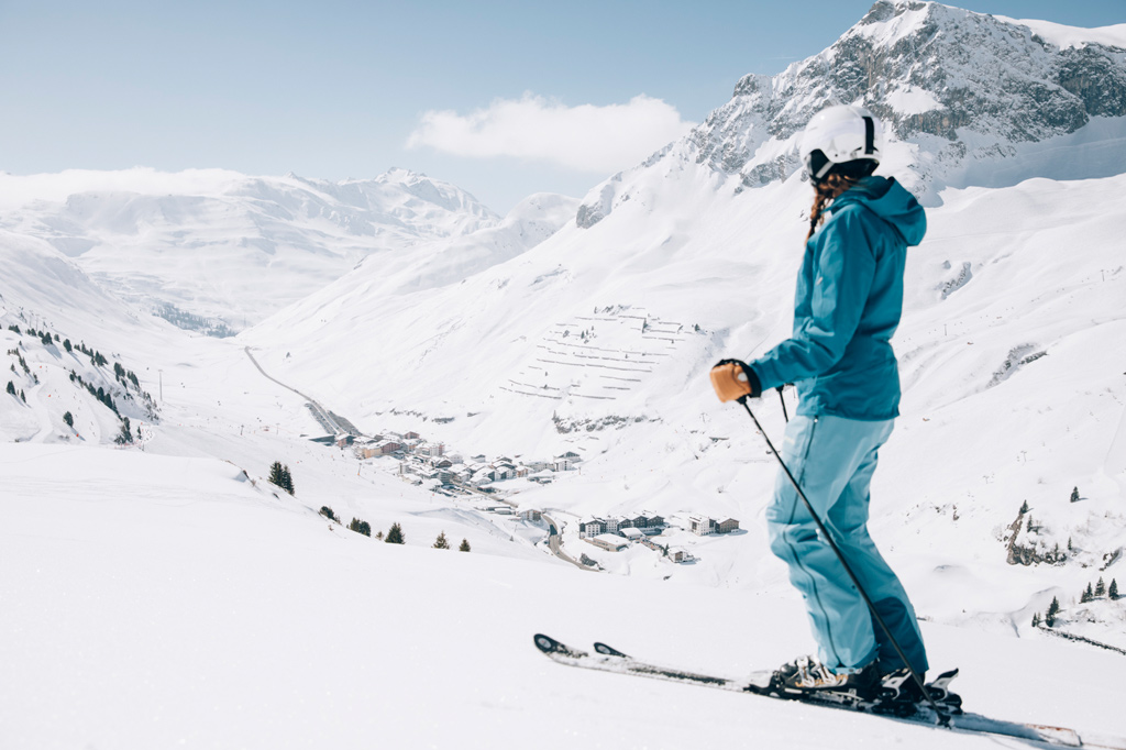wintersport ski arlberg