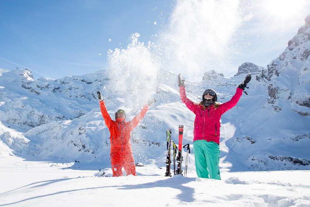 Skigebiet Engelberg Schweiz