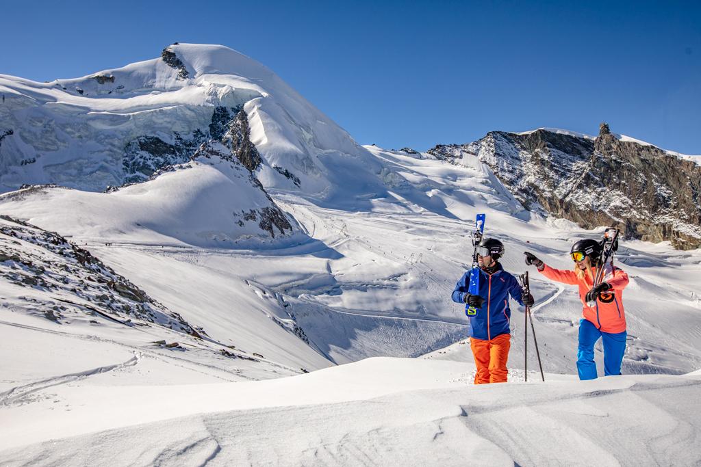 Skigebiet Saas Fee Schweiz