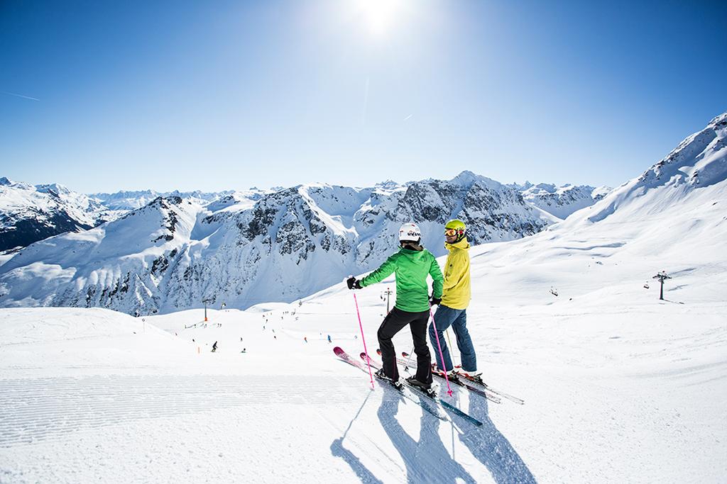 Skifahren Montafon