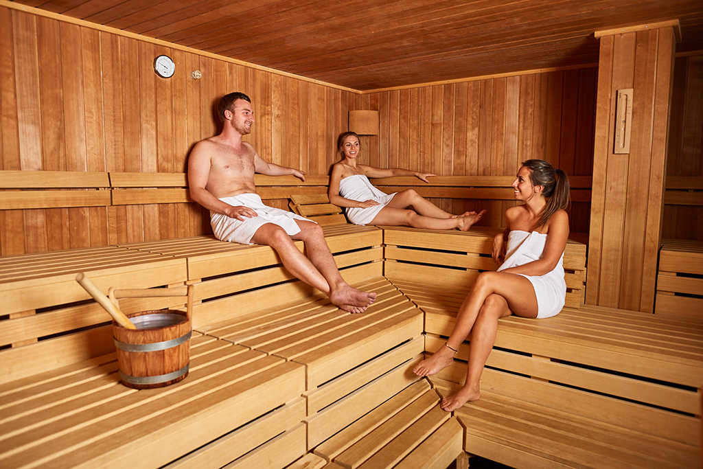 Explorer Hotel Sauna