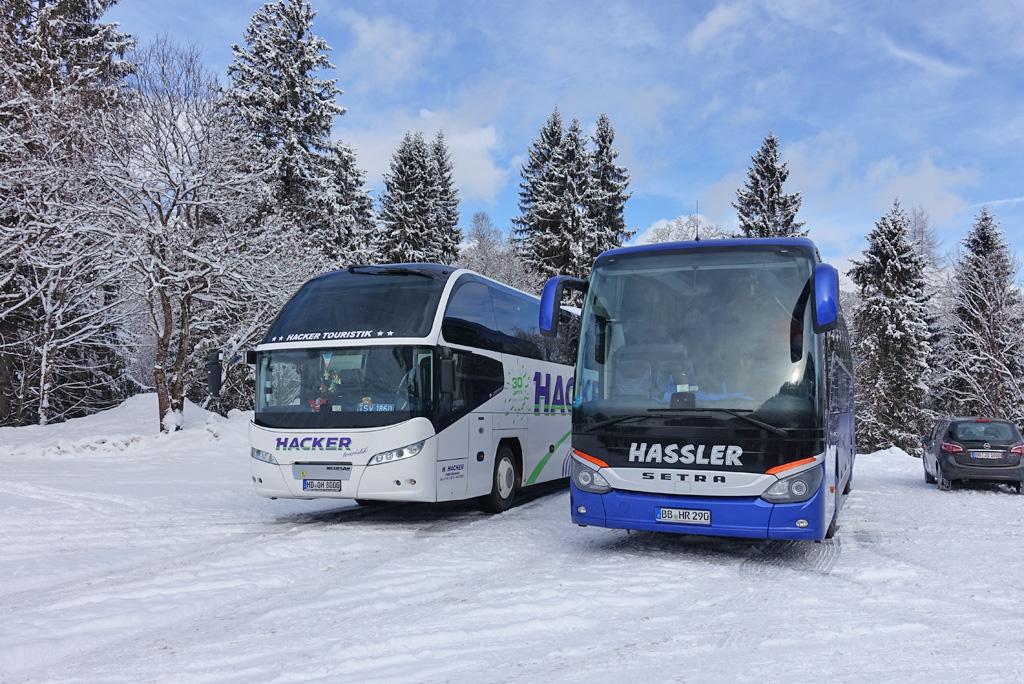 Busreizen Alpen