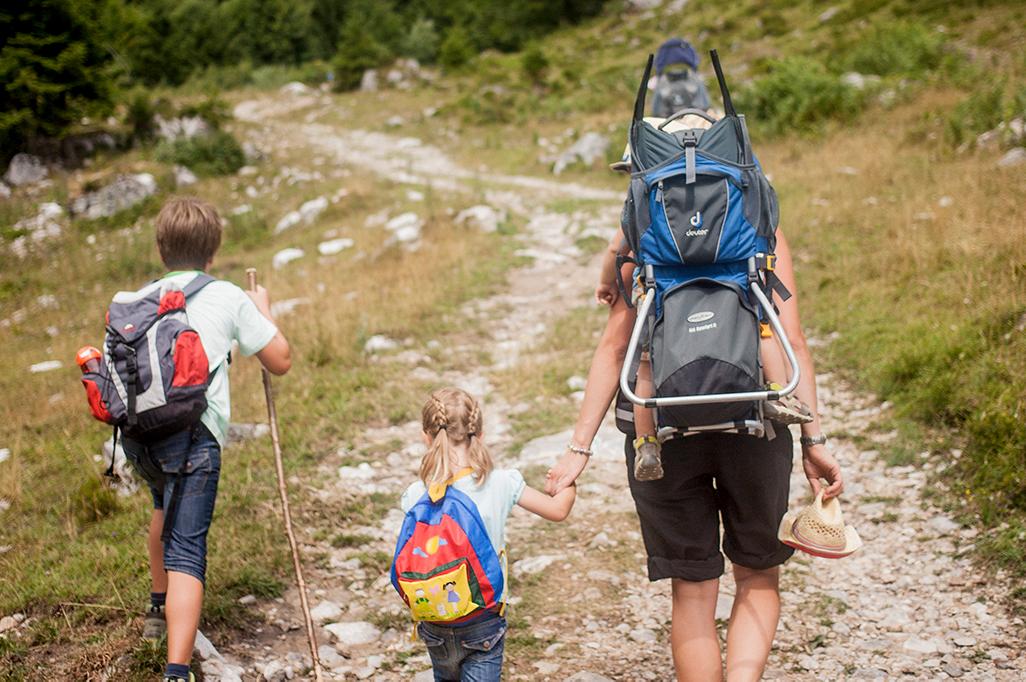 Wandelen met kinderen in Tirol
