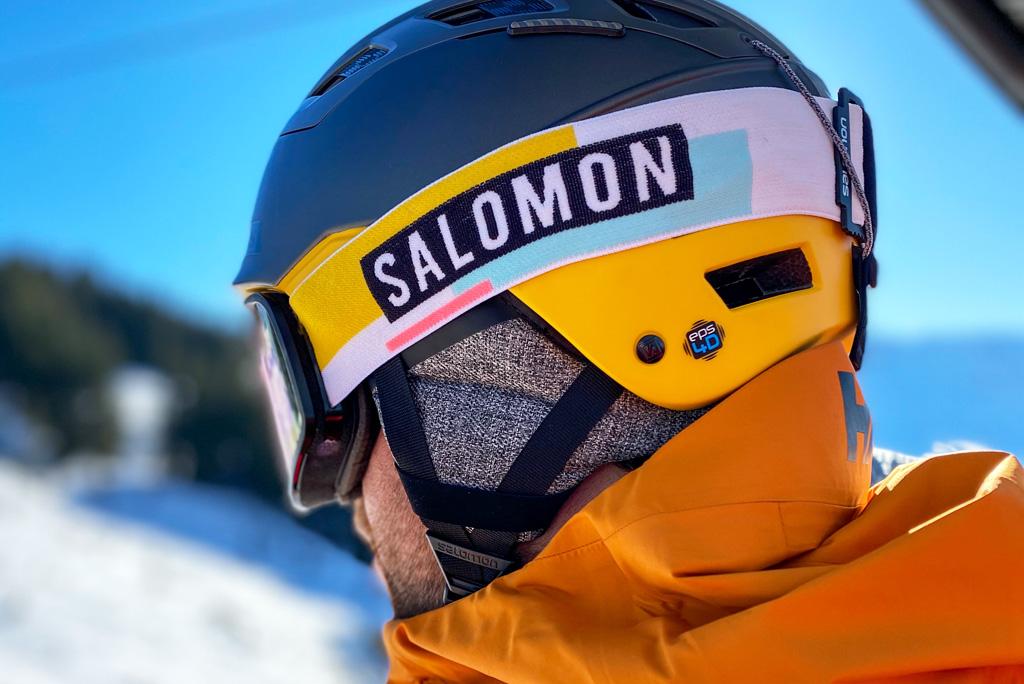 Skihelm Salomon
