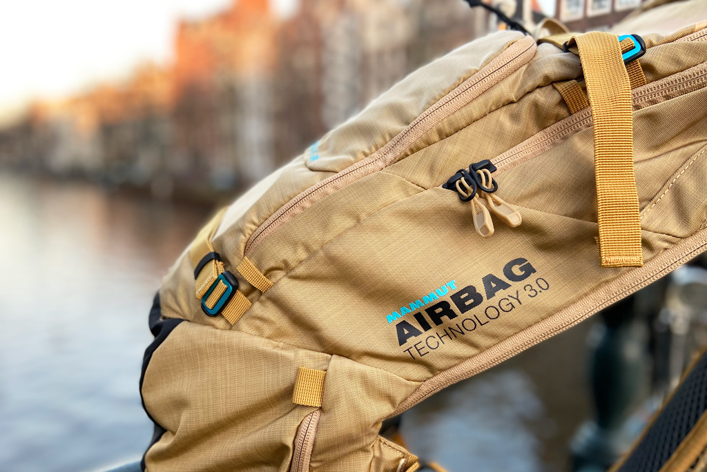 Airbag systeem ski rugzak