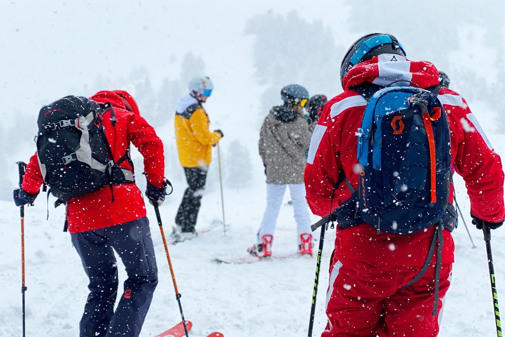 Ski rugzakken