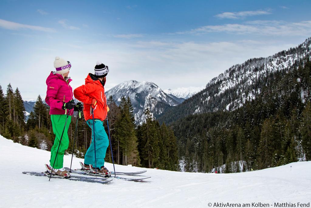 Skiën Naturpark Ammergauer Alpen