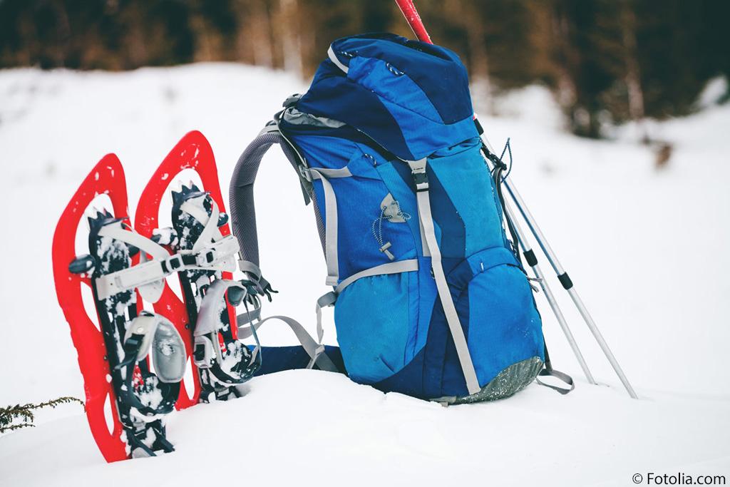 Sneeuwschoen uitrusting