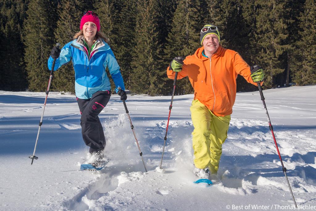 Sneeuwschoenwandelen Ammergauer Alpen