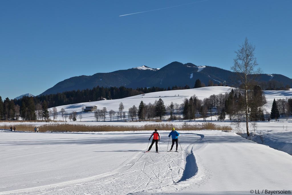 Langlaufen Naturparkregion Ammergauer Alpen