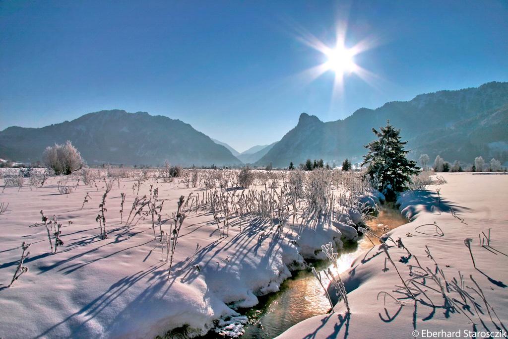 Landschap Naturparkregion Ammergauer Alpen