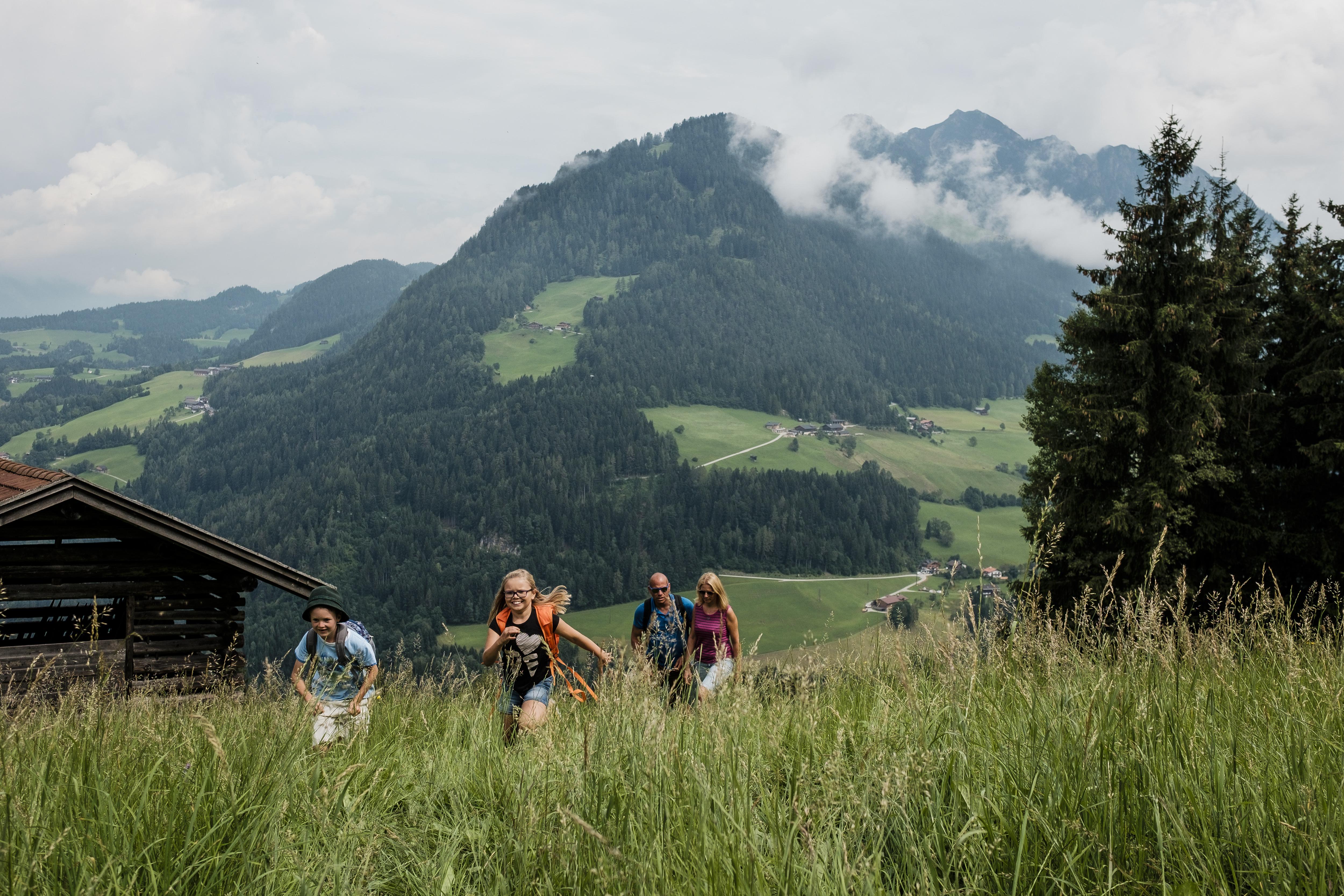 Zomervakantie met kinderen in Tirol