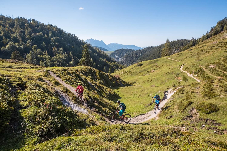 Fietsen in de Kitzbüheler Alpen de KAT Bike