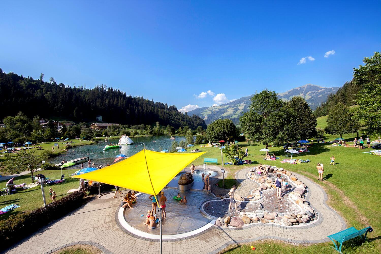 Zwemmen en waterpret in de Kitzbüheler Alpen