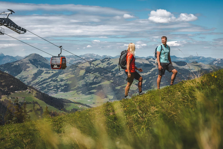 Zomervakantie in de Kitzbüheler Alpen in Tirol